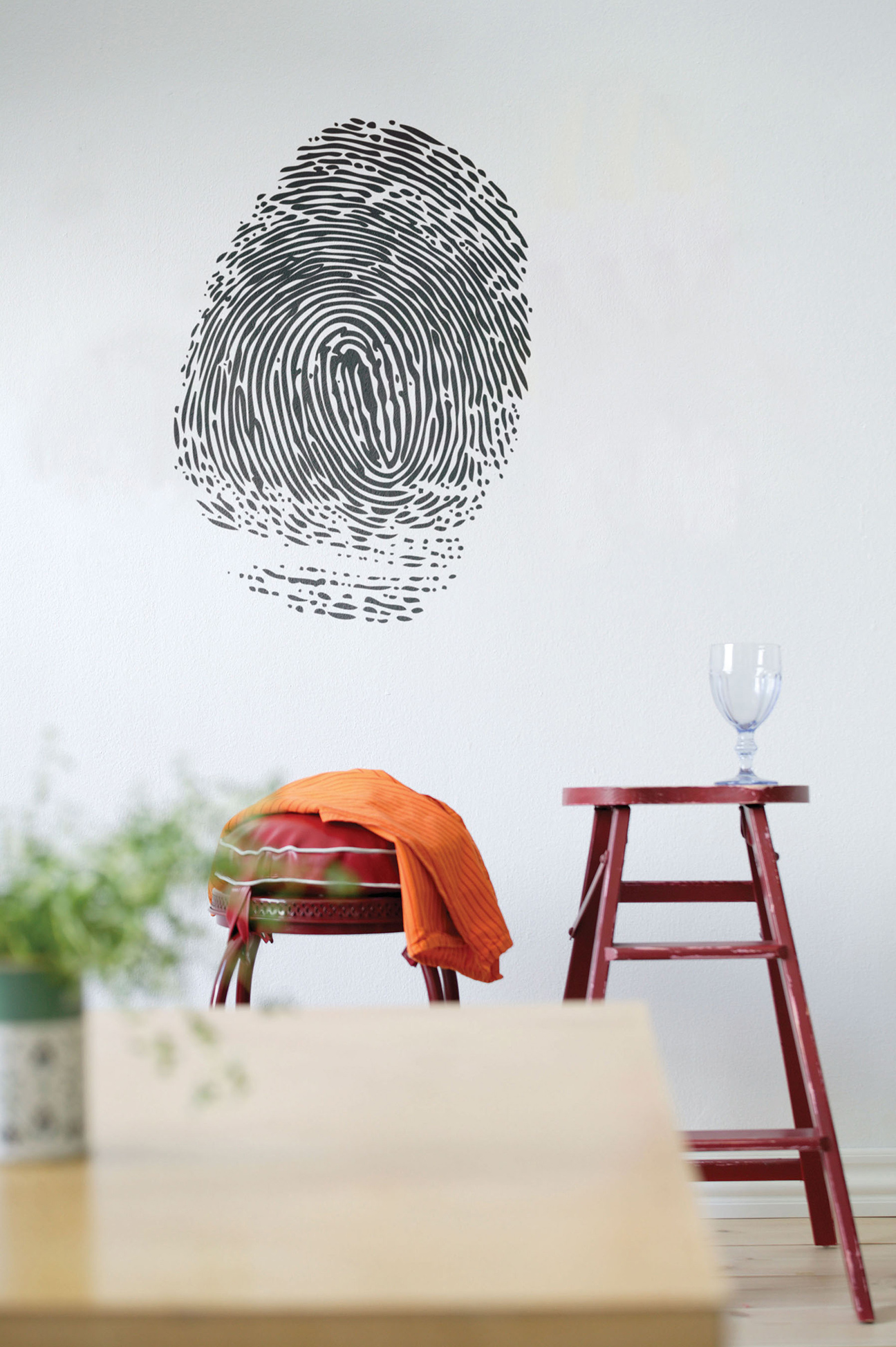 Ferm Living Wallsticker Fingerprint